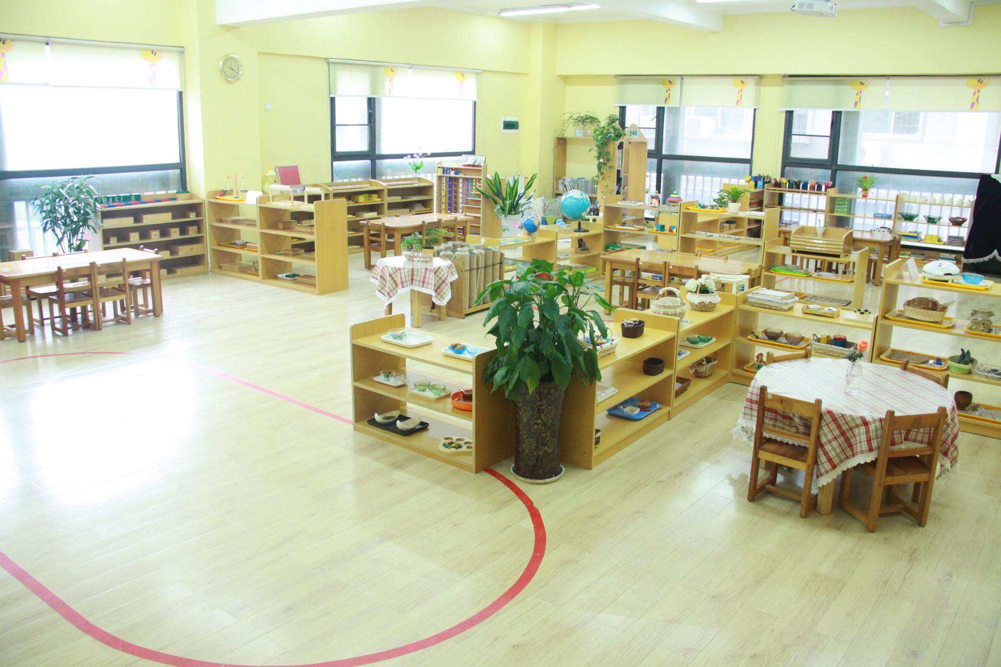 蒙氏教室平面设计图分享展示